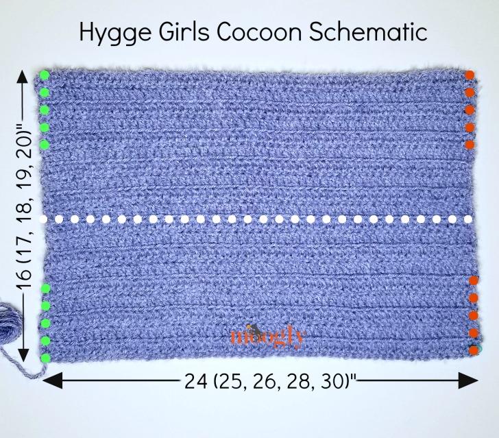 Hygge Girls Cocoon Schematic