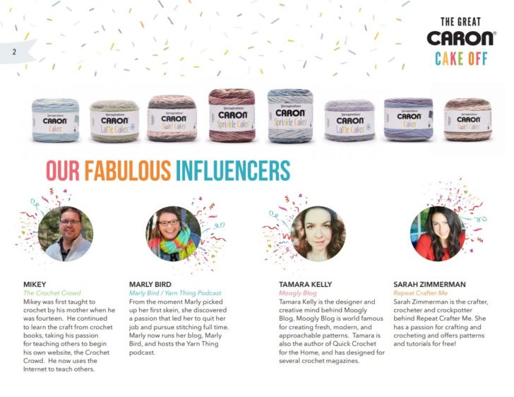 Caron Cake Off 2020 Influencers and Teachers