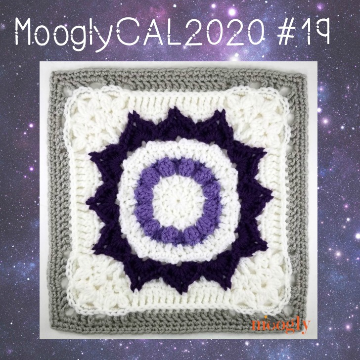 MooglyCAL2020 Block 19 by Julie Yeager