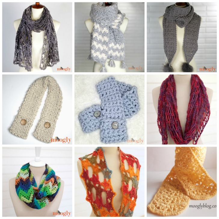 Free Scarf Patterns on Moogly!