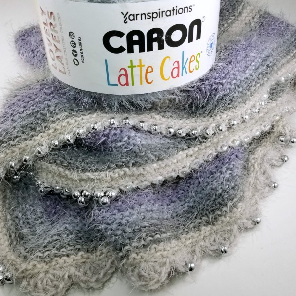 September 17 at 12pm CST - National Online Class Misty Chevron Knit Shawl The Great Caron Cake Off
