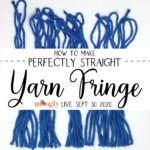Moogly Live September 30, 2020 – How to Make Straight Yarn Fringe