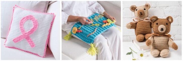 Annie's Caring Crochet Kit Club Projects