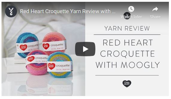 Moogly's review of Red Heart Croquette