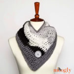 Easy One Skein Bandana Cowl