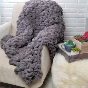 Finger Crochet Blanket