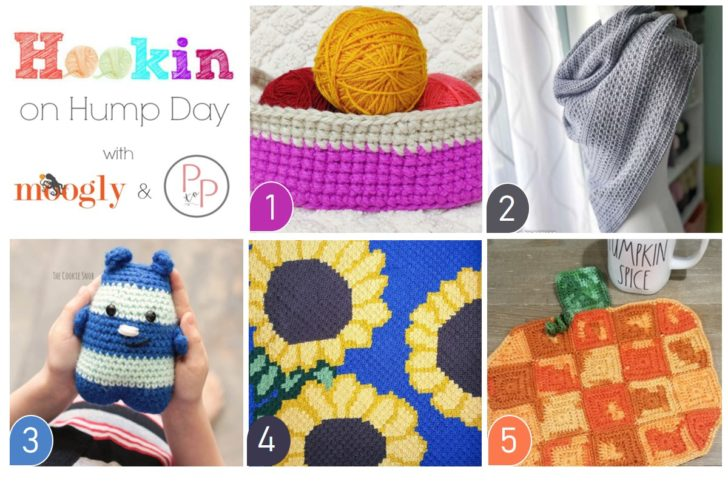 Hookin On Hump Day 224 - get all these FREE pattern links on Moogly!
