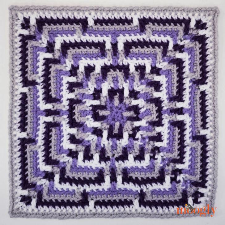 MooglyCAL2020 Block22, courtesy of Oombawka Design - Moogly's purple version
