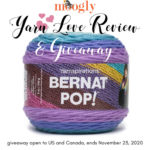 Bernat Pop! Yarn Love Review and Giveaway