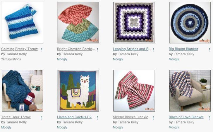 Free Crochet Blanket Patterns by Moogly