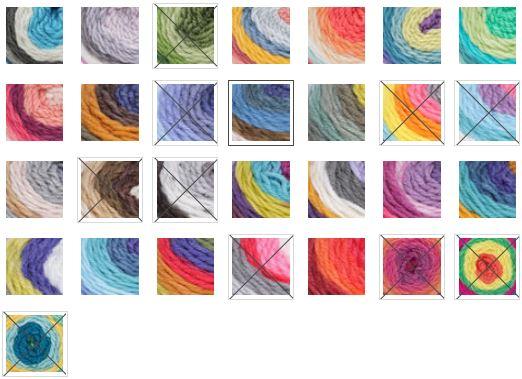 The 29 Colorways of Bernat Pop!