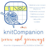A knitCompanion Review and Giveaway