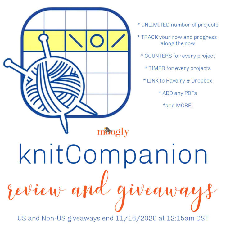 knitCompanion Giveaways on Moogly