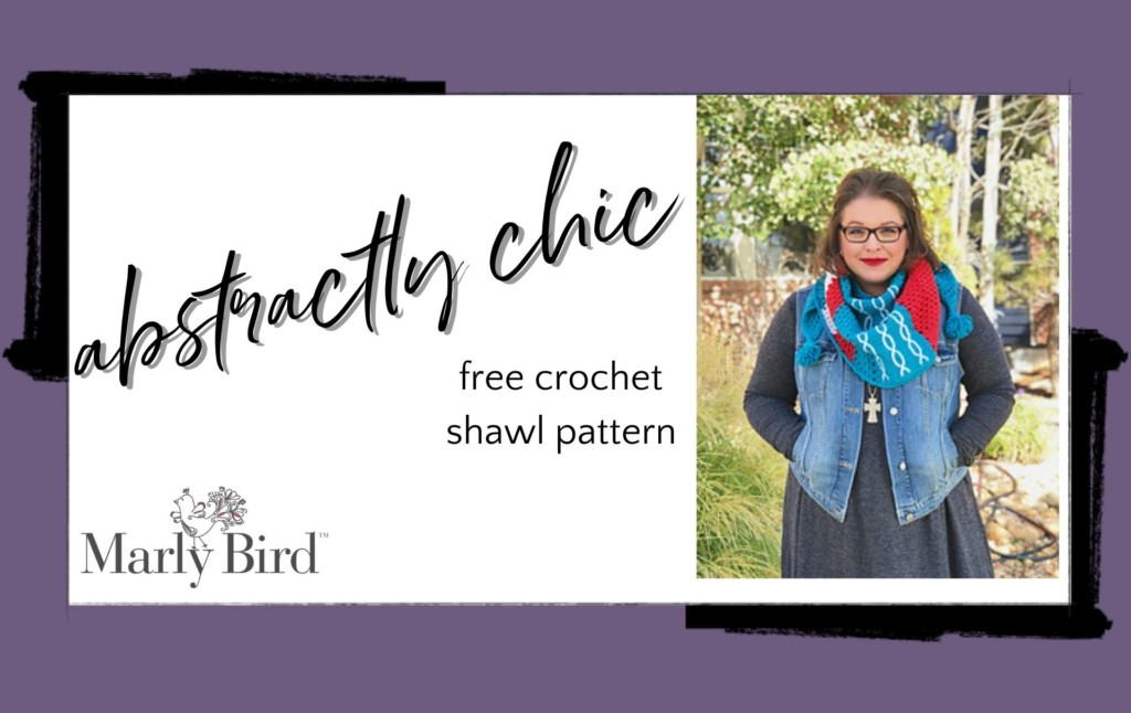 Abstractly Chic Shawl