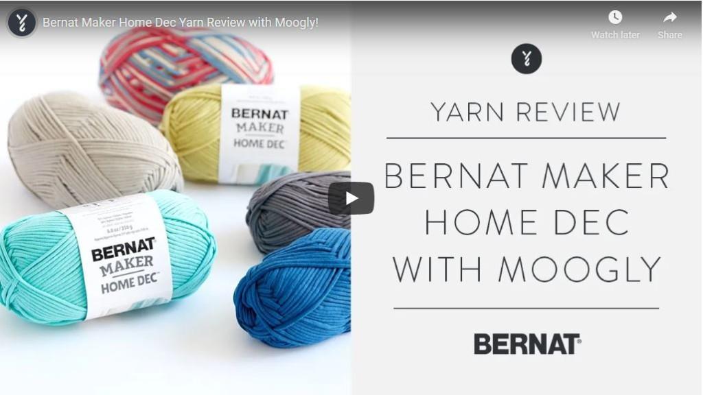 Bernat Maker Home Dec Review Screengrab