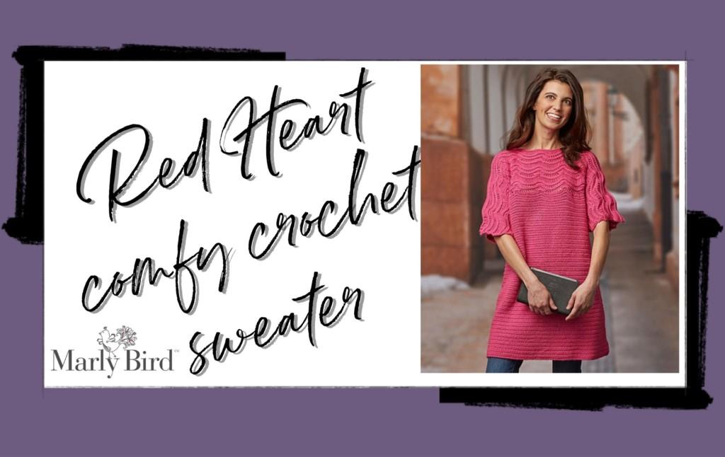 Comfy crochet sweater
