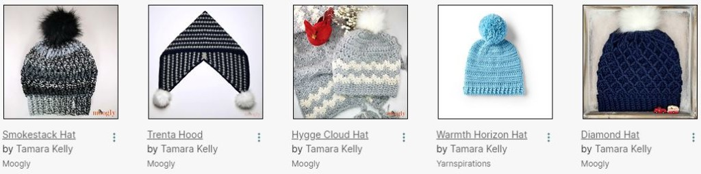 Recent Hat Designs by Moogly