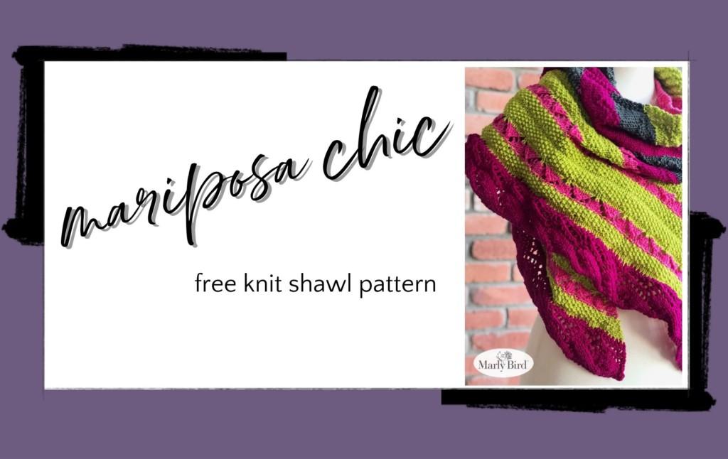Mariposa Knit Shawl Pattern