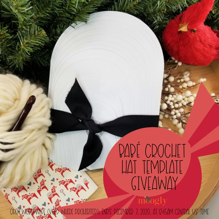 Babé Crochet Hat Template Giveaway on Moogly