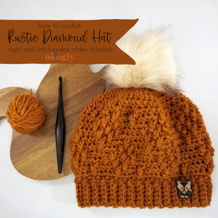 Rustic Diamond Hat Tutorial - Right  Left-Handed on Moogly