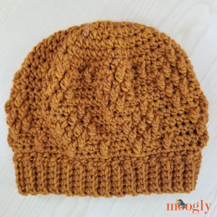 Rustic Diamond Hat without Pom