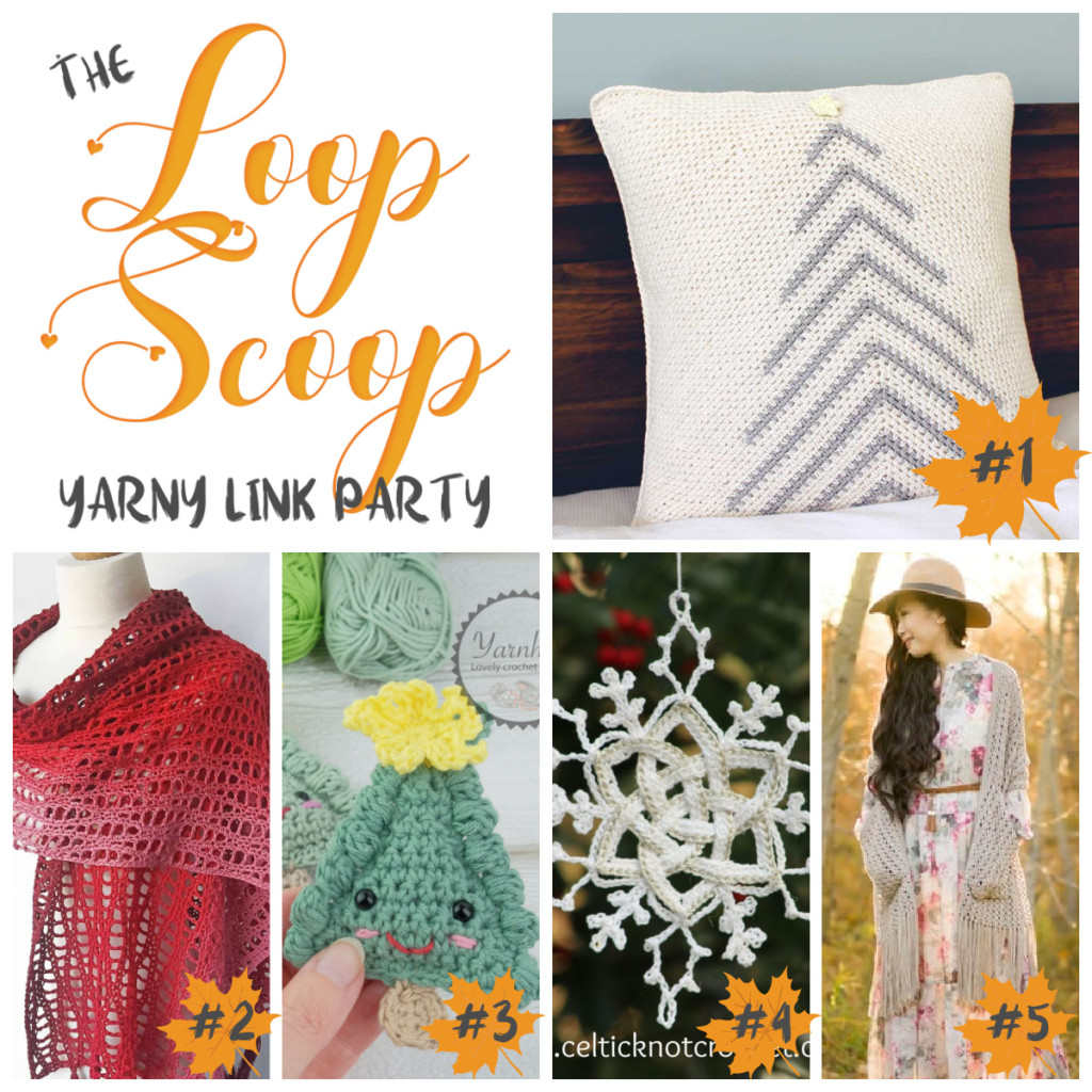 The Loop Scoop 2 - get all these patterns in this link party on Moogly!