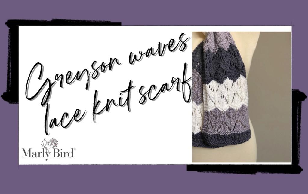 Greyson Waves Knit Scarf