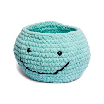 Bernat Whale-y Nice Crochet Basket