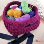 Emergency Crochet Basket