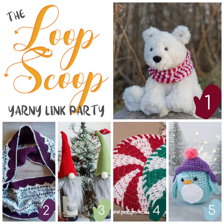 The Loop Scoop #4 on Moogly and Petals to Picots