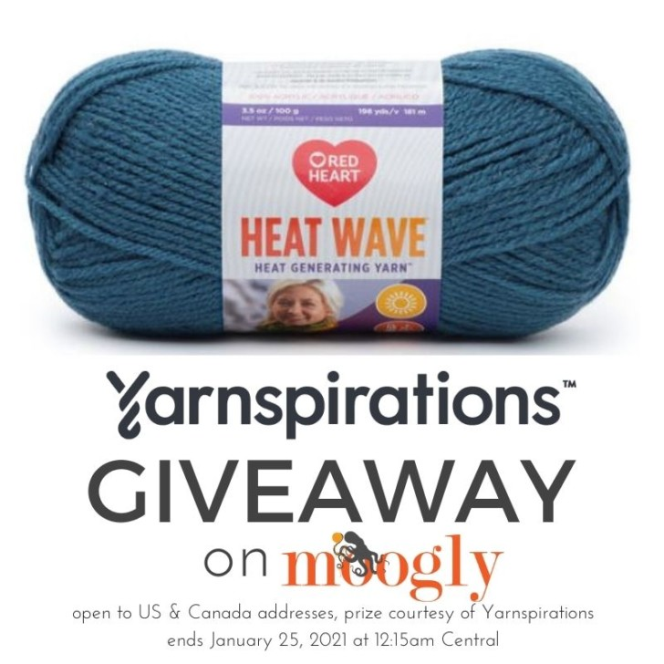 Red Heart Heat Wave Giveaway on Moogly