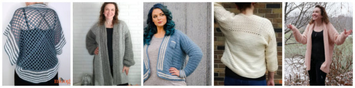 Sweater Designs by Moogly