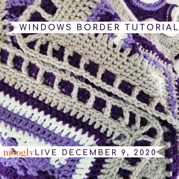 Windows Border Tutorial and Live on Moogly for December 9, 2020