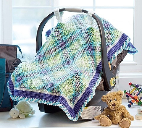 Yarn Pooling Made Easy - Car Seat Cover