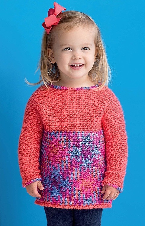 Yarn Pooling Made Easy - Child's Sweater