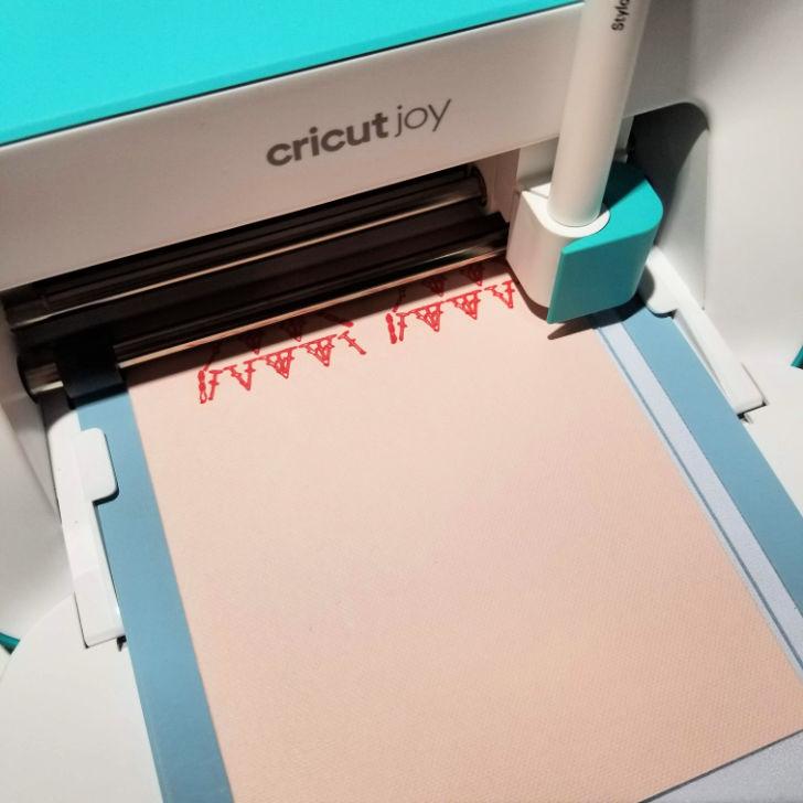 Cricut Joy writing card