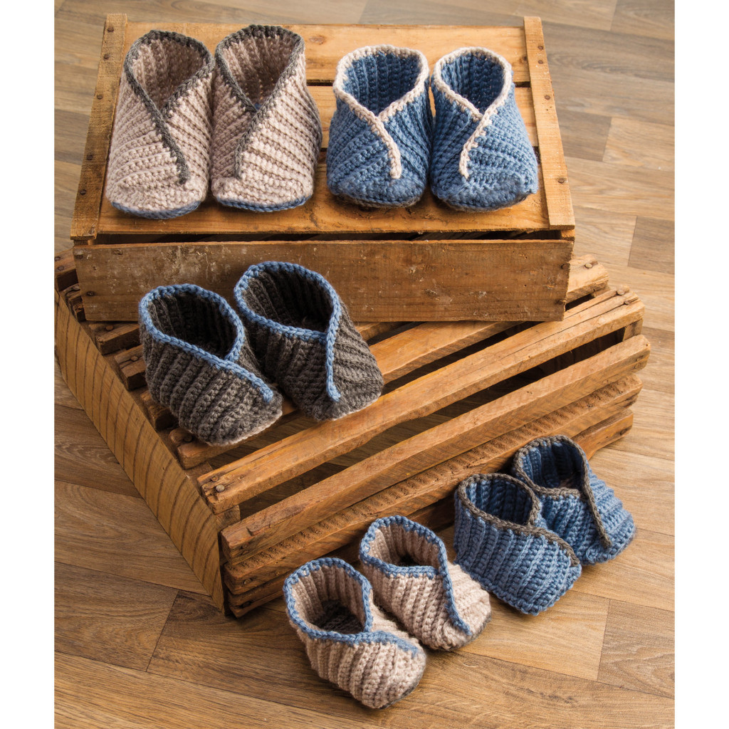 Annie's Hook and Needle Club - baby booties
