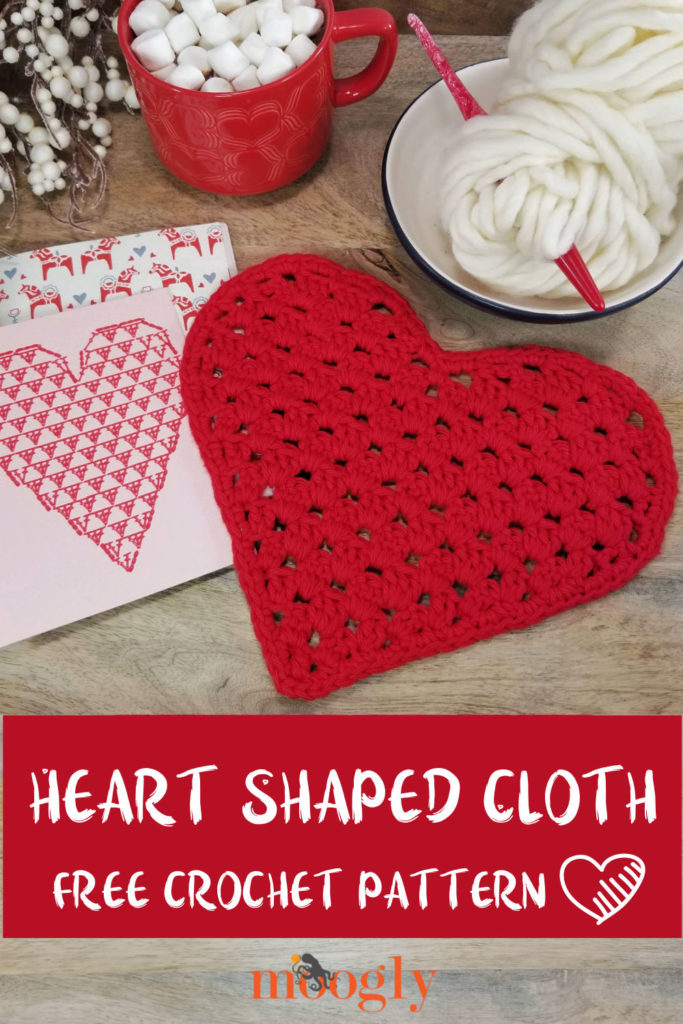 Heart Shaped Cloth - pinterest collage