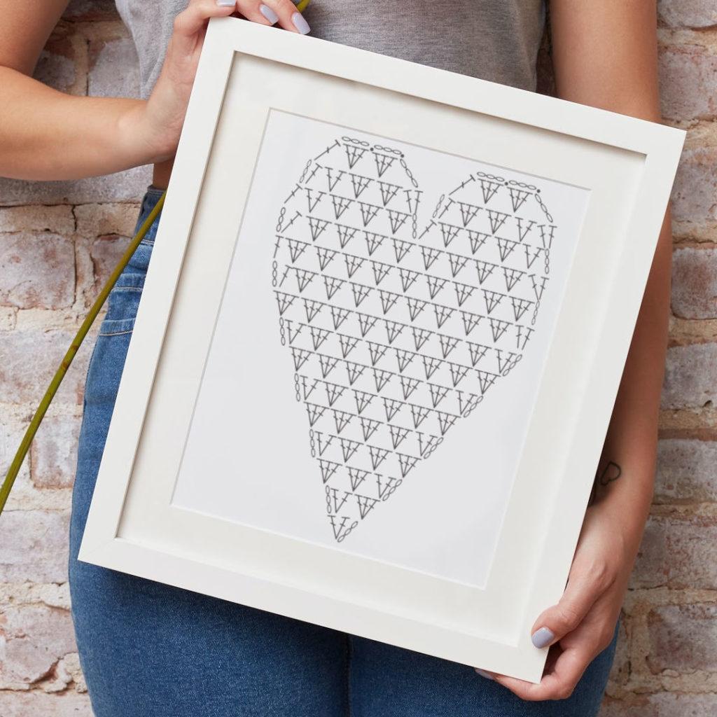 Heart Shaped Chart Mockup 1