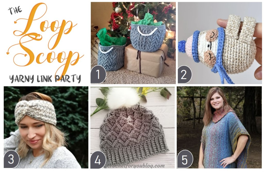 The Loop Scoop #5 on Moogly and Petals to Picots