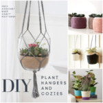 DIY Plant Hangers and Cozies – Free Patterns to Explore!