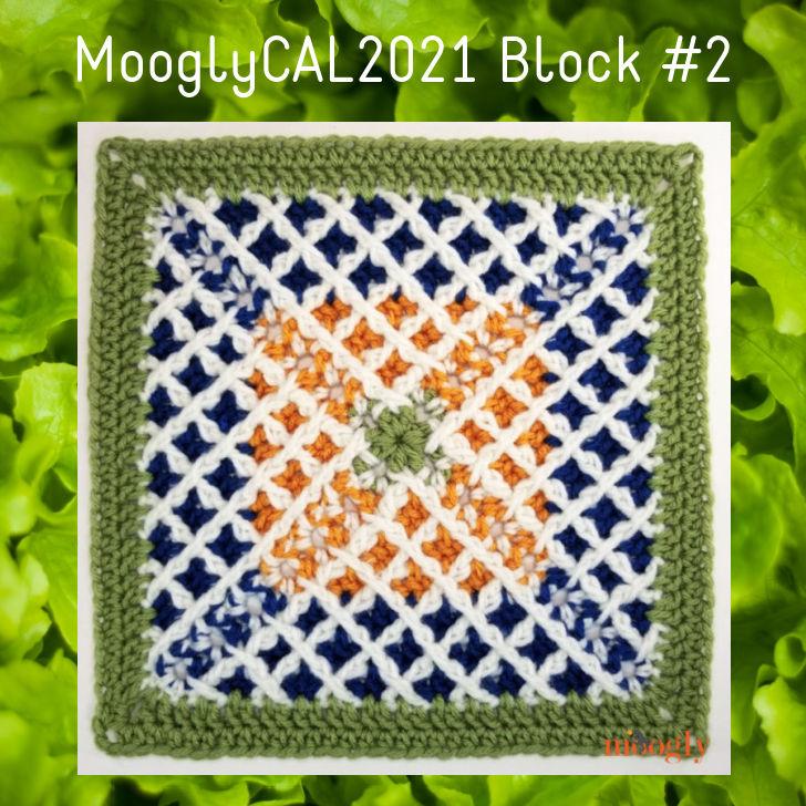 MooglyCAL2021 - Block #2 by Linda Dean Crochet