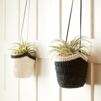 Crochet Hanging Pot Cozy
