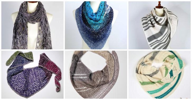 Free Crochet Shawl patterns on Moogly