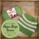 Alpine Stripe Beanie Tutorial – Moogly Live February 23, 2021