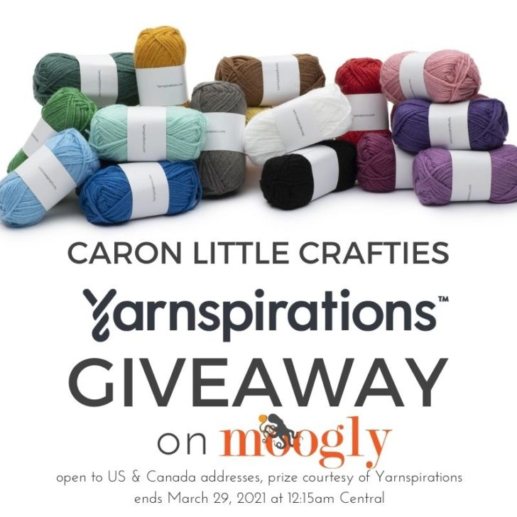 Caron Little Crafties Giveaway on Moogly