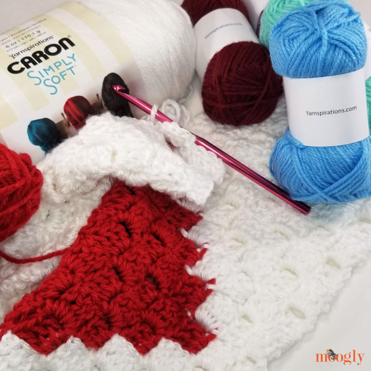 Caron Little Crafties and Caron Simply Soft - C2C Sneak Peek