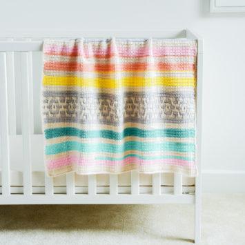 Geo Crochet Baby Blanket