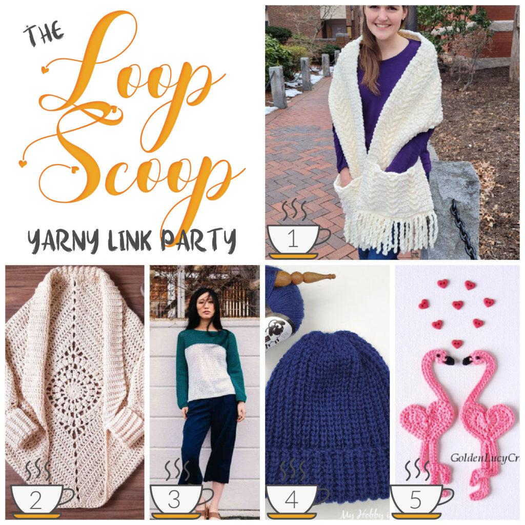Loop Scoop #8 - get all these FREE crochet pattern links on Moogly!