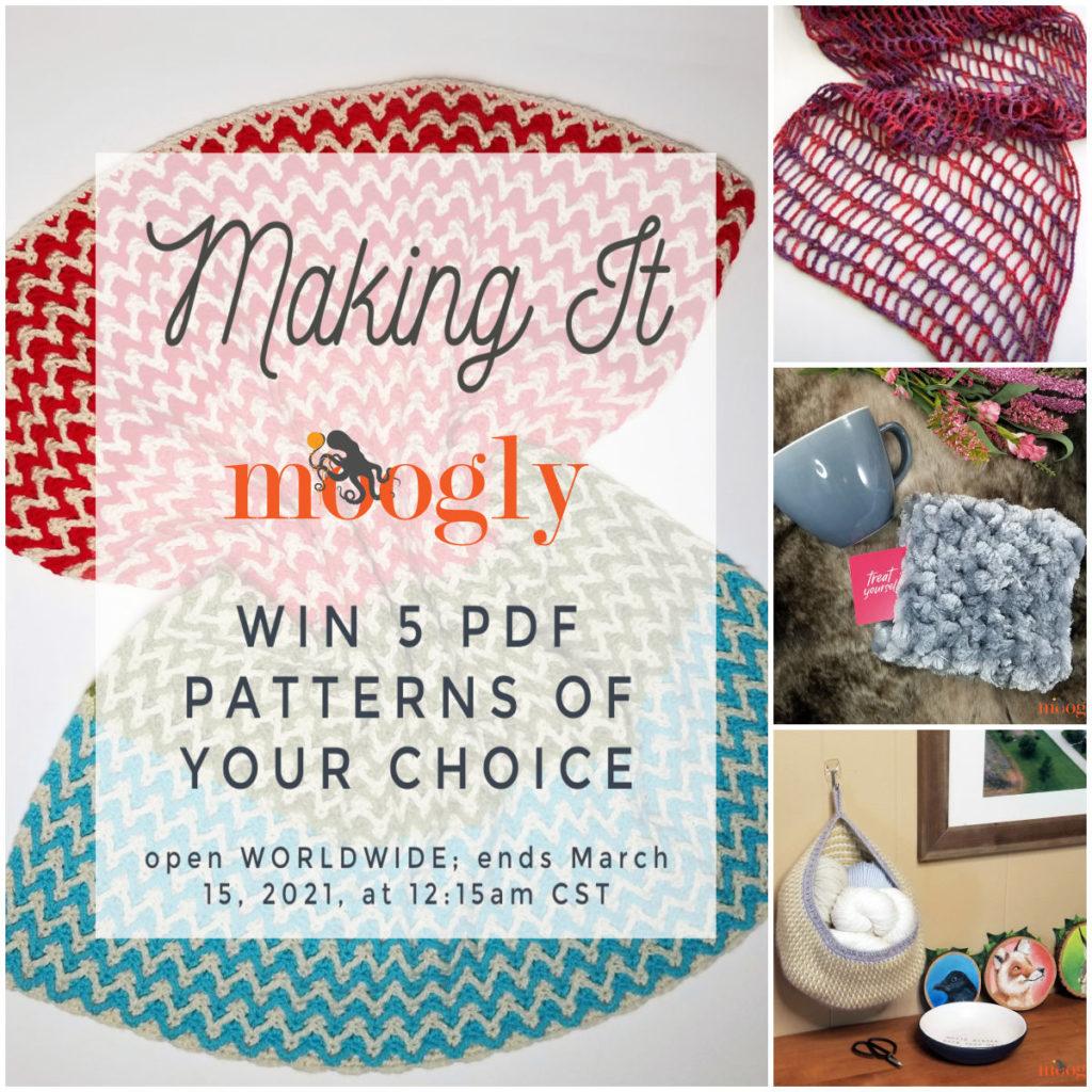 Making It Moogly - Pattern Giveaway on Moogly